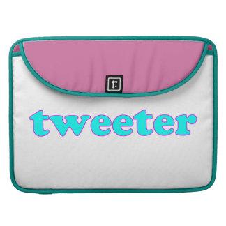Tweeter Sleeve Für MacBooks