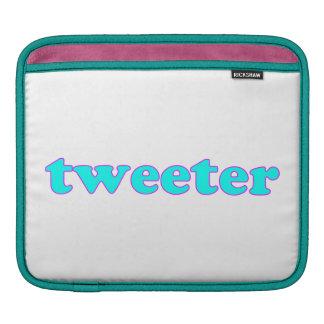 Tweeter Sleeves Für iPads