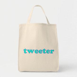 Tweeter Tragetasche