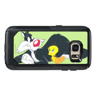 Tweety in Aktions-Pose 14 OtterBox Samsung Galaxy S7 Hülle