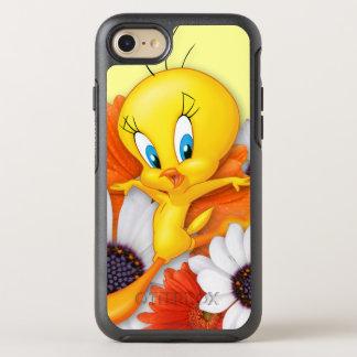 Tweety mit Gänseblümchen OtterBox Symmetry iPhone 8/7 Hülle