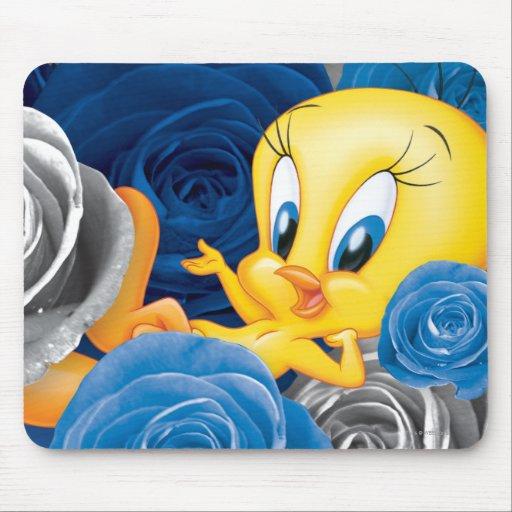 Tweety mit Rosen Mousepads