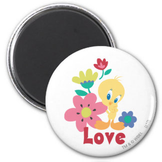 Tweety Red Love Magnets