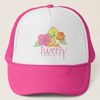Tweety tropische Blumen Truckerkappe