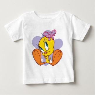Tweety und Schmetterling Baby T-shirt