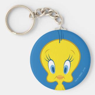 Tweety™ | unschuldiger kleiner Vogel Standard Runder Schlüsselanhänger