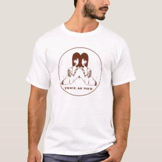 Twice as Nice / Men Ringer-Shirt T-Shirt