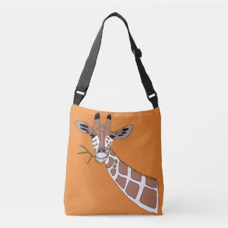 Twiggy die Giraffe Tragetaschen Mit Langen Trägern