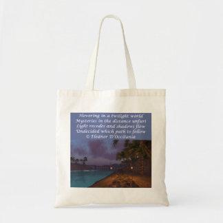 Twilight Geheimnis-Poesie-Budget-Taschen-Tasche Tragetasche