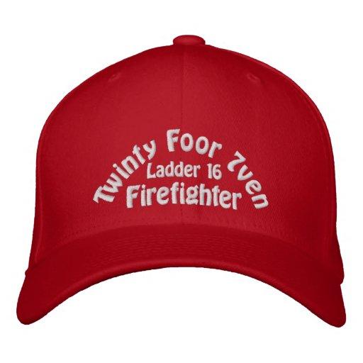 Twinty Foor 7ven/Firefighter Bestickte Kappe
