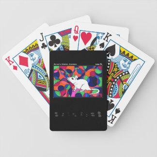 TWIS Spielkarten: Blairs Tiereckratte Bicycle Spielkarten