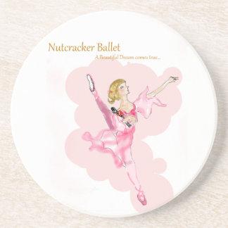 Twitt Nussknacker-Ballett Latida Sammlung 2015 Sandstein Untersetzer