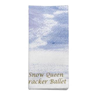 Twitt Schnee Königin-Nussknacker Ballett durch Stoffserviette