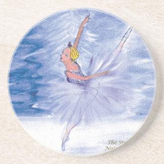 Twitt Schnee Königin-Nussknacker Ballett durch Untersetzer