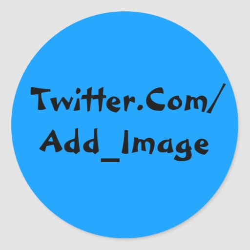 Twitter-Aufkleber-Blau 2