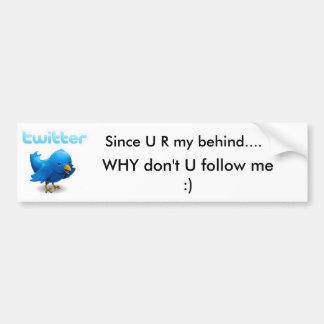 Twitter Autoaufkleber