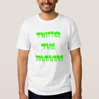 Twitter dieses: BAHAHAHA Tshirt