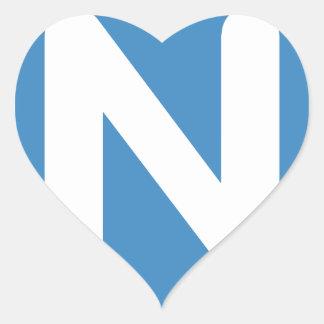 Twitter Emoji - Letter N