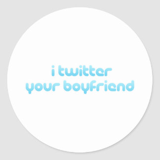 Twitter I Ihr Freund Stickers