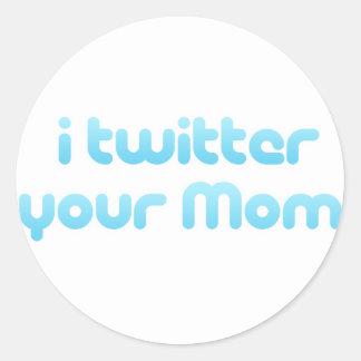 Twitter I Ihre Mamma Stickers