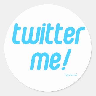 Twitter ich aufkleber