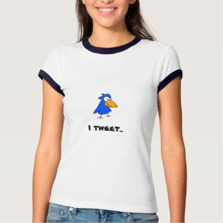 Twitter!  Ich tweete! Tshirts