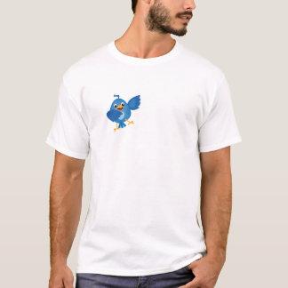 """TWITTER INSPIRIERTER SPASS """"TWEETEN GERADE ES """" T-Shirt"""