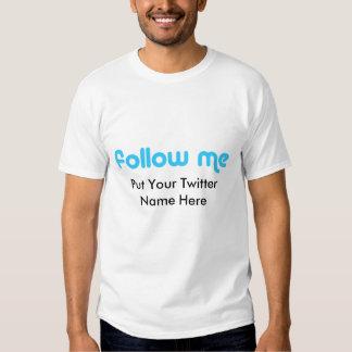 Twitter-klassischer T - Shirt/setzte Ihren Namen T-Shirts