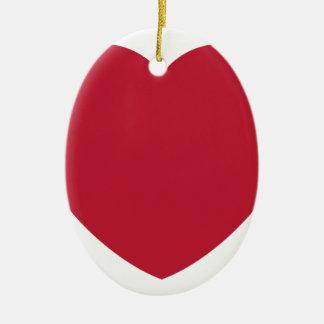 Twitter Love Heart Emoji Keramik Ornament