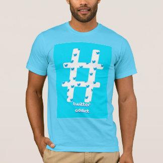 Twitter-Süchtig-T - Shirt