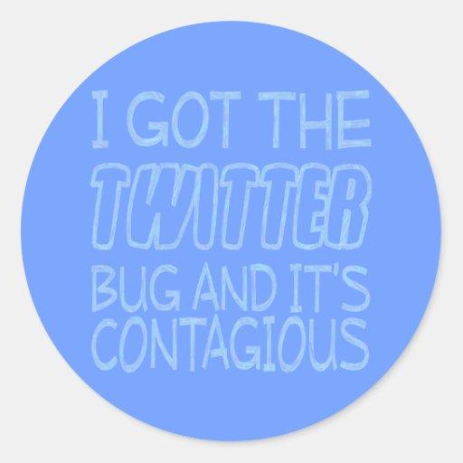 Twitter-Wanze Sticker