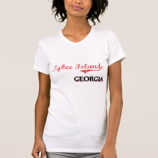 Tybee Insel-Georgia-Stadt-Klassiker T-Shirt