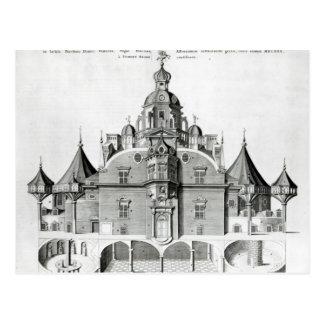 Tycho Brahes Observatorium Uraniborg Postkarte