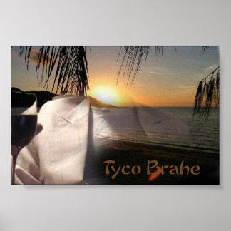 Tyco Brahe Band-Plakat Poster