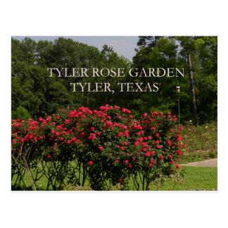Tyler Rosen-Garten Postkarte
