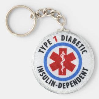 Typ- 1diabetiker schlüsselanhänger