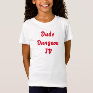 Typ DungeonTV einfacher Mädchen-T - Shirt