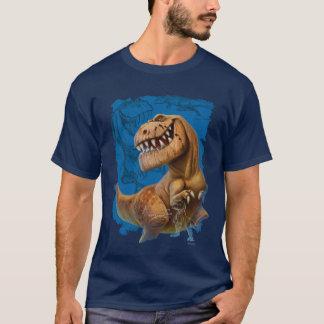 Typ-Skizze-Zusammensetzung T-Shirt