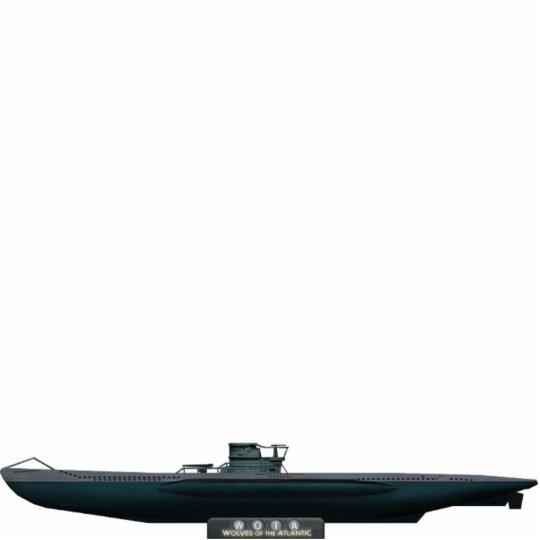 Type VII U-Boat (small) Freistehende Fotoskulptur
