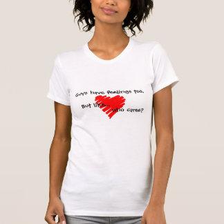 Typen haben Gefühle auch - Babydoll-T - Shirt