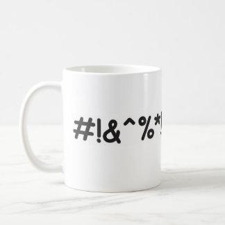 Typischer frustrierender Tag Kaffeetasse