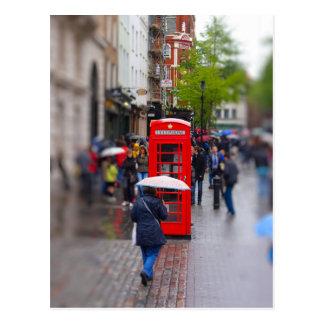 Typisches London - vergessen Sie nicht den Postkarte