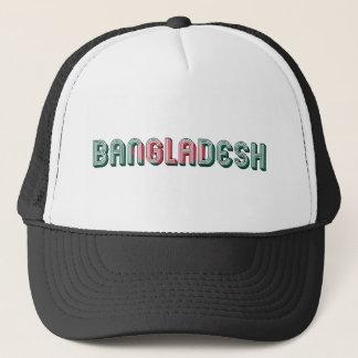 Typografie-Flaggen-Farben Bangladeschs Südasien Truckerkappe