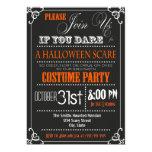 Typografie-Halloween-Party-Einladung 12,7 X 17,8 Cm Einladungskarte