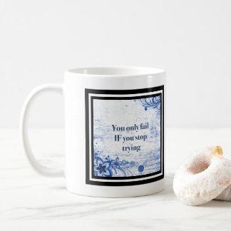 Typografie-Inspirational | motivierend Zitate Kaffeetasse