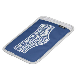 Typografie Tighty Whities Kapitän-Underpants | Sleeve Für iPad Mini