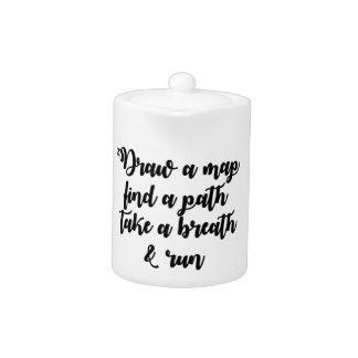 Typografie-Zitat-Leben-Reise-inspirierend Geschenk