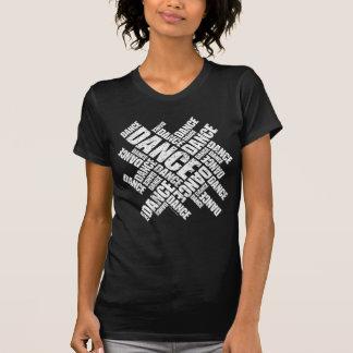 Typografischer Tanz (beunruhigt) T Shirt