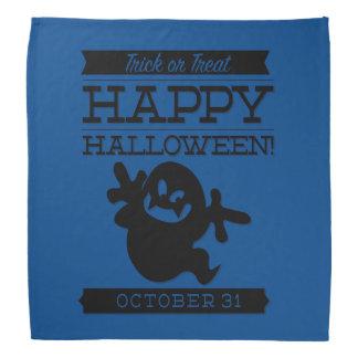 Typografisches Retro Halloween Halstuch