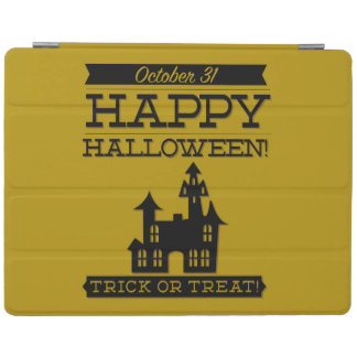 Typografisches Retro Halloween iPad Hülle